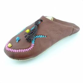 Embroidered Maklouba slippers