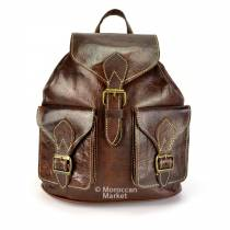 Medina goat leather Backpack