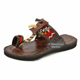 Handmade leather Berber Sandals
