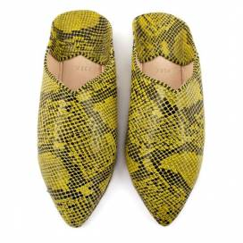 Snake leather Slippers