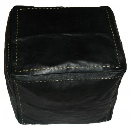 pouf cubic black