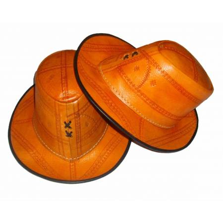 leather hat authentics