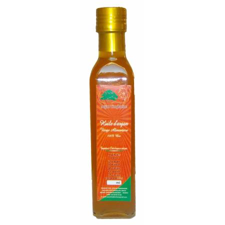 OIL VIRGIN FOOD ARGAN 250 ml