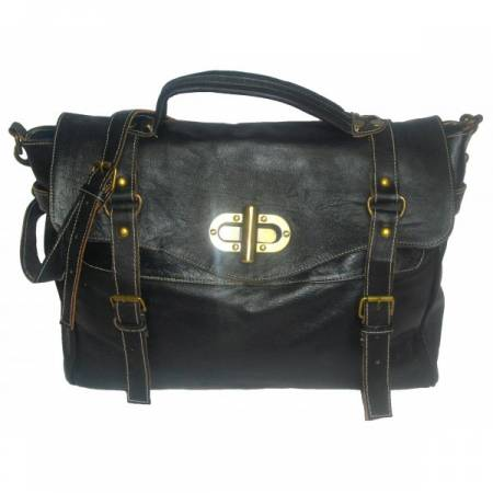satchel Alexander leather