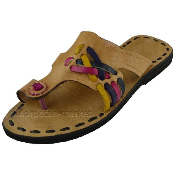 agadir sandals handmade with a beautiful leather by. Black Bedroom Furniture Sets. Home Design Ideas