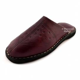 Hada Moroccan leather Slippers